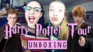 UNBOXING HARRY POTTER TOUR | ft. Julia Compton