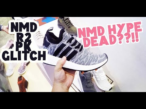 d69c25e2ba3f6 Adidas NMD R2 PK Black Glitch    NMD HYPE IS DEAD  - YouTube