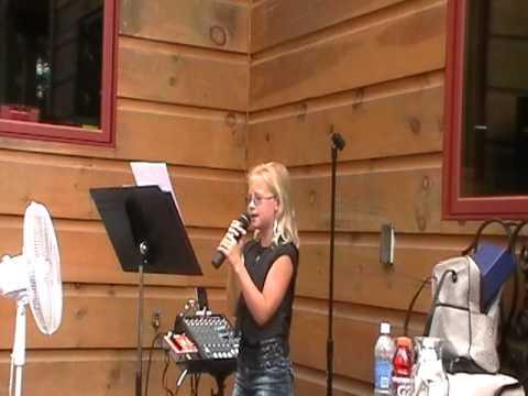 Jordan O'Sullivan singing