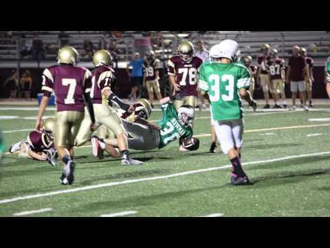 Newman 7-8 Grade football 2014 season