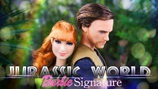 Unbox Daily: Jurassic World 2 Barbie Signature Owen & Claire Dolls