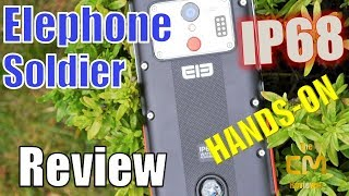Elephone Soldier Test - Rugged IP68 Smartphone, 21MP Sony IMX220 - H...