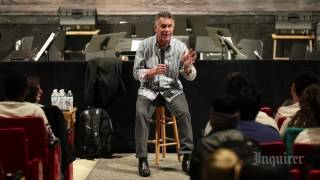 Brian Stokes Mitchell at Cherry Hill East High School