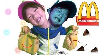 赤ちゃんポケモンおもちゃマクドナルドのハッピーセットVSサプライズセット★なりきり thumbnail