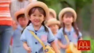 AKB48 向井地美音 子役時代のCM集 マクドナルド バンダイ 講談社 三菱電機 松下電器 ライオン ジュニアアイドル Mukaichi Mion