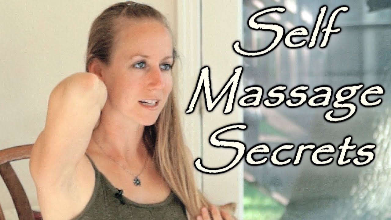 Technique of self-massage with cervical osteochondrosis 83
