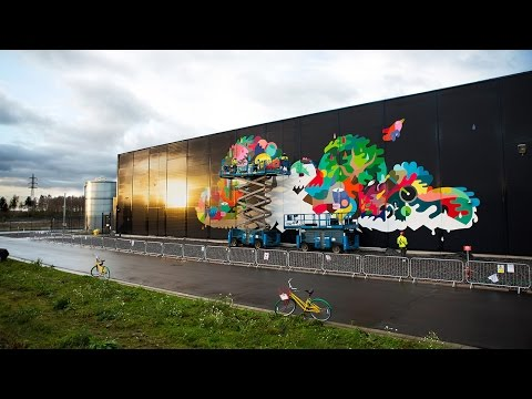 Thumbnail: The Data Center Mural Project: Painting a Cloud