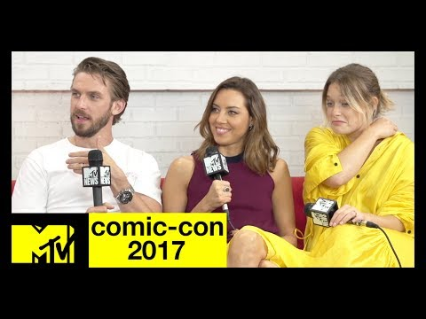 'Legion' Cast: Dan Stevens, Aubrey Plaza & Rachel Keller Talk Season 2  ComicCon 2017  MTV