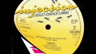 CHARADE - GOT TO GET TO YOU  ( Instrumental Version ) 1983.