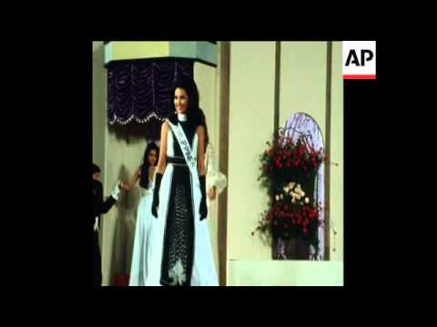 SYND 7-10-72 MISS INTERNATIONAL 1972, BEAUTY COMPETITION