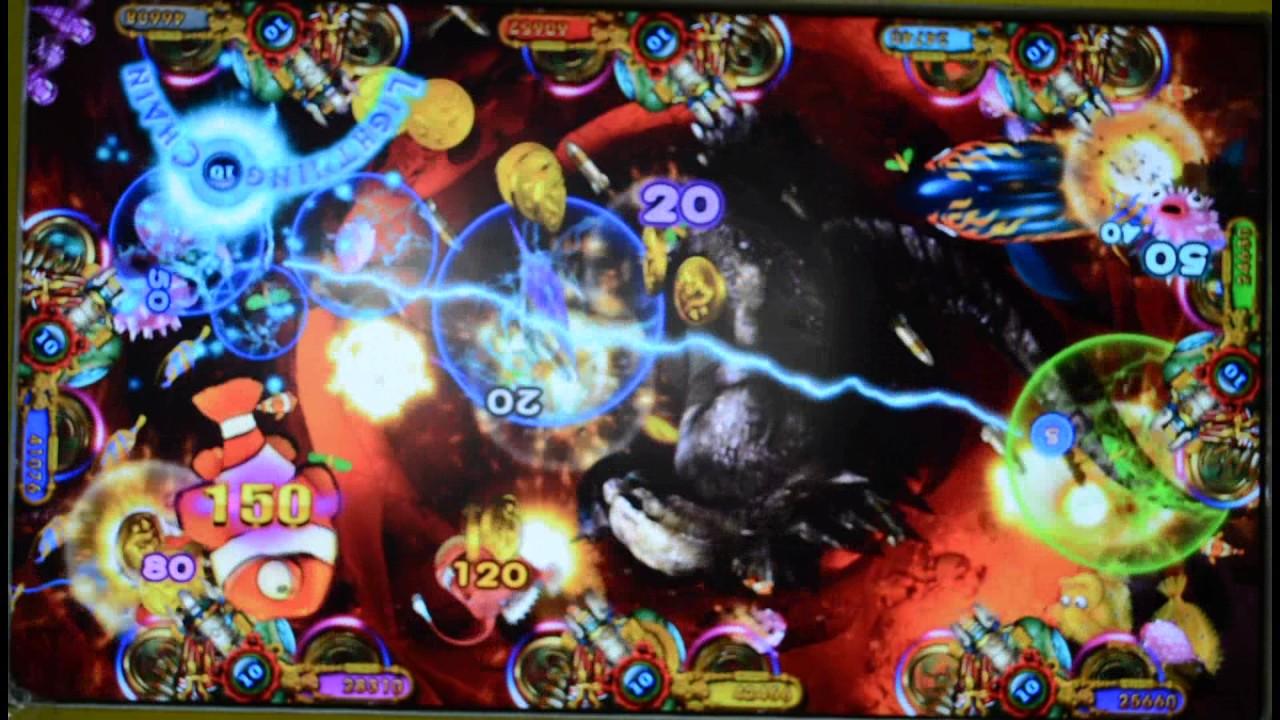 Thunder King kong Dragon Ocean King 2 arcade cheats fish