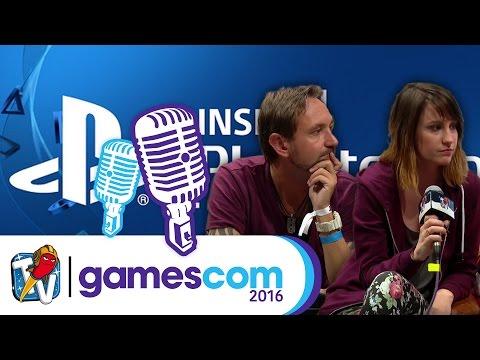 gamescom 2016   Inside Playstation - Interview: Nils im Gespräch mit Anne & Wolf   20.08.2016