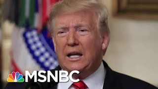 Officials Cringe As Trump Reveals Highly Classified Info | Morning Joe | MSNBC