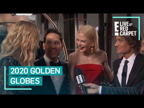Laura Dern's Interview Gets Crashed At 2020 Golden Globes   E! Red Carpet & Award Shows