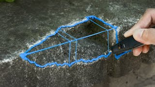 Fixing a Wall With a 3D Pen (In 2020)