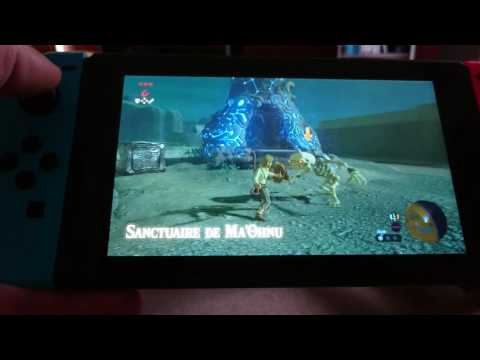 Bug sur ma Nintendo Switch