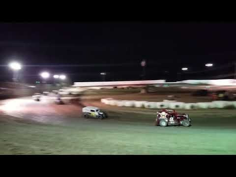Dwarf car nationals Marysville  Raceway Vet A Main saturday 2018 pt2