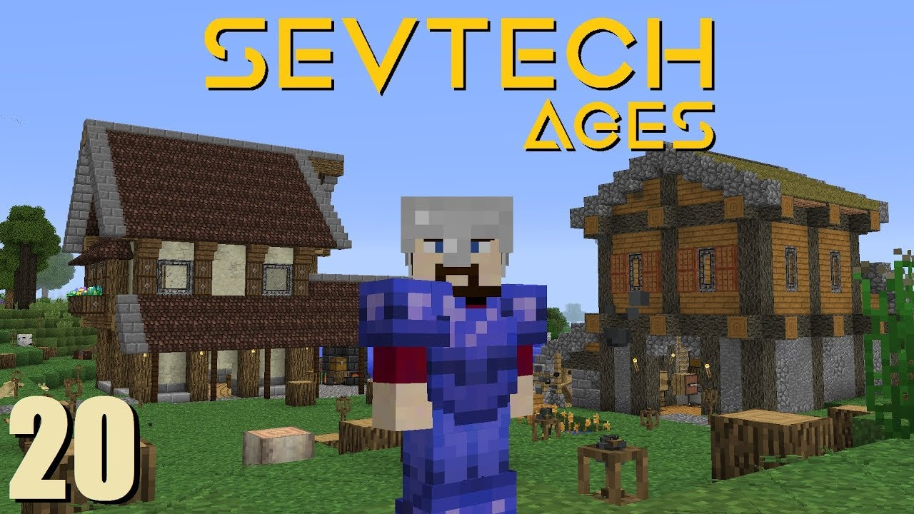 SevTech Ep 20: Tinkers' Smeltery and Blacksmith Shop