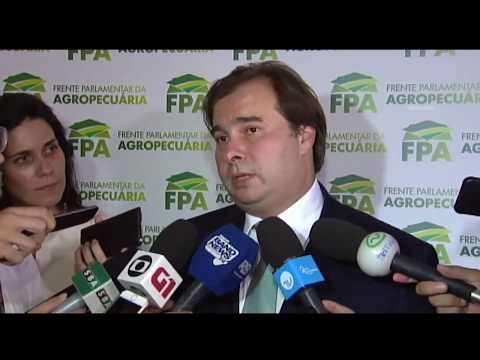 Licenciamento ambiental: Maia defende diálogo - 13/03/2018