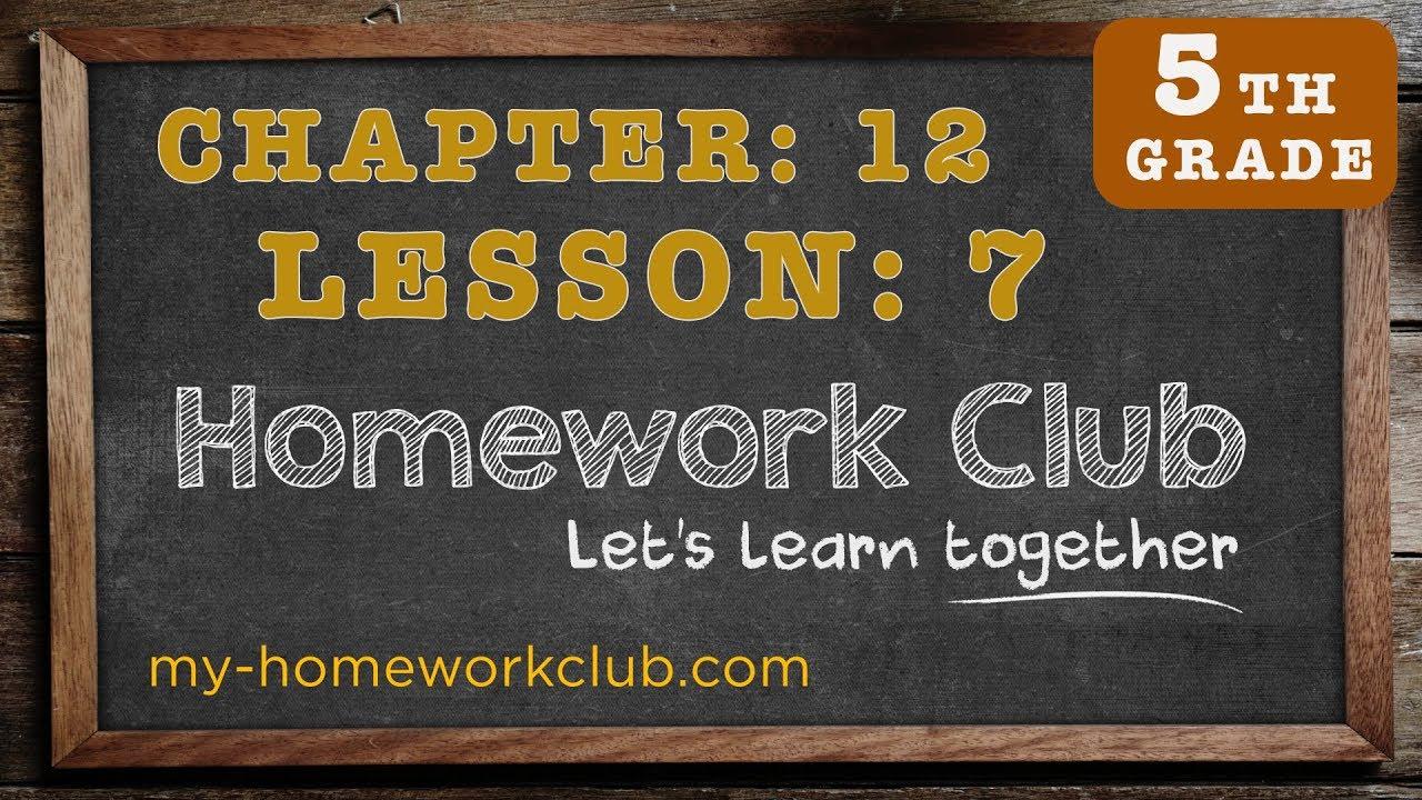 One homework help