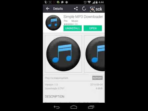 How to download any song for free (android)