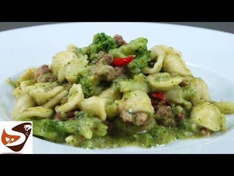 Pasta con broccoli e salsiccia – Facile, Veloce  e gustosa – Primi piatti