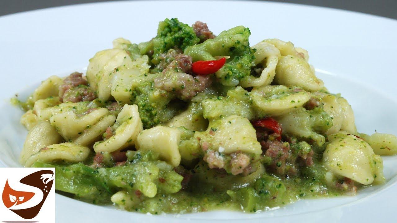 Pasta con broccoli e salsiccia facile veloce e gustosa for Ricette primi piatti pasta