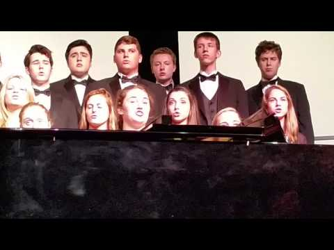 "Emma/Calvin - show choir - ""Supermassive Black Hole""  10/5/16"
