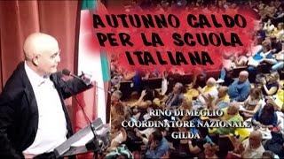 AUTUNNO CALDO PER LA SCUOLA ITALIANA