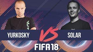 SOLAR VS YURKOSKY FIFA 18