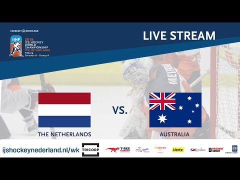 Live Stream WC Ice Hockey Division II Group A: The Netherlands vs. Australia April 29th 2018