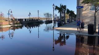 Flooding in downtown Wilmington