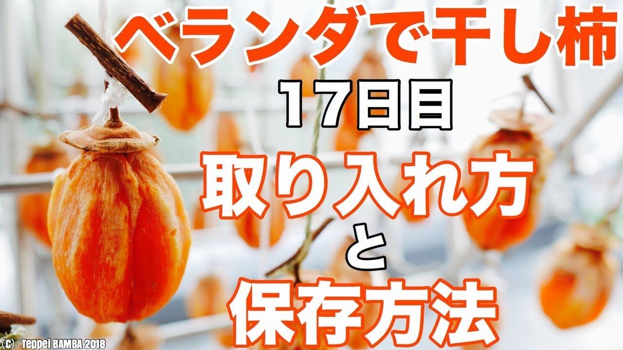 保存 干し柿 法 の