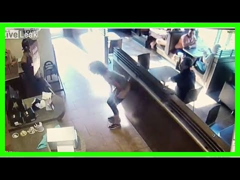 Woman Caught on Camera Defecating on Floor of a Tim Hortons and Throwing Feces at an Employee