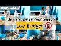 IDE PERMAINAN SAMBIL BELAJAR LOW BUDGET | MONTESSORI PLAY AT HOME