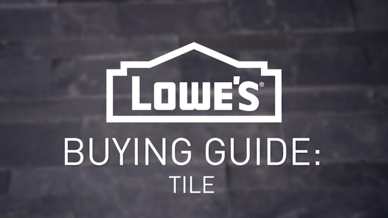 how to choose the right tile buying guide