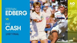 AO Classics: Stefan Edberg v Pat Cash (1987 F)