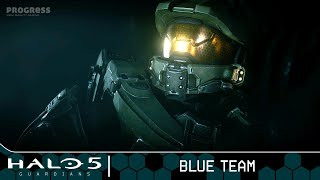 Halo 5: Guardians Walkthrough - Mission 2 - Blue Team