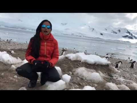 My first Antarctic landing @ Neko Harbor
