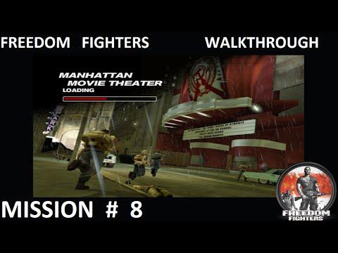 Freedom Fighters 1 - Walkthrough - Mission 8 - ''Manhattan Movie Theater''