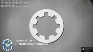 Sim Settlements: Mod Help - Installation Problems