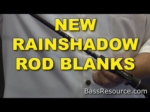 New Rainshadow Rod Blanks | Batson | Bass Fishing
