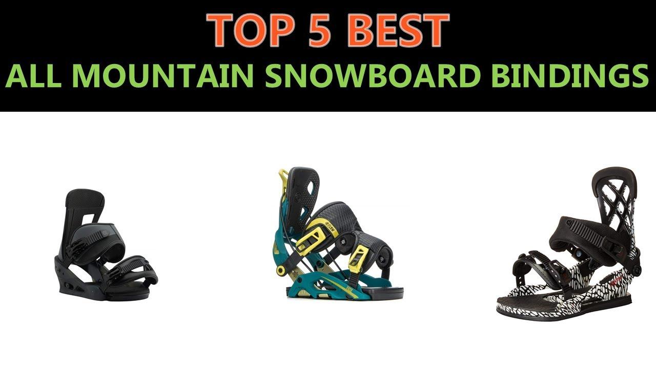 9ab69bdd7685 Best All Mountain Snowboard Bindings 2019 - YouTube