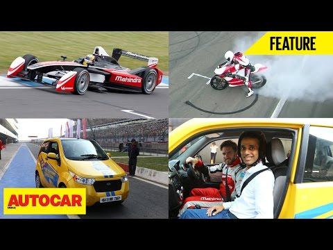 Mahindra M2Electro, MGP300, Reva e2o At Buddh International Circuit | Feature | Autocar India