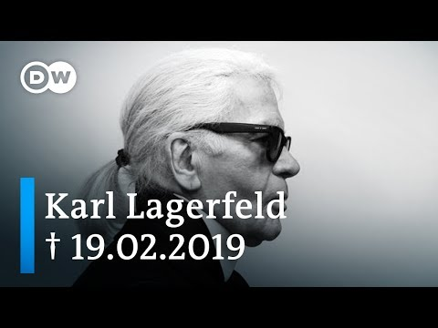 El diseñador alemán Karl Lagerfeld   DW Documental