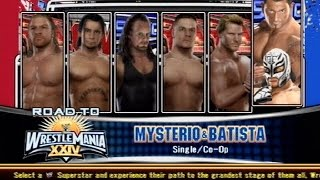 WWE Smackdown VS Raw 2009 Cut Scenes Complete