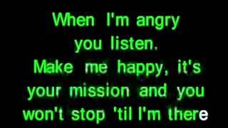 Ashlee Simpson Pieces Of Me  karaoke com back vocal