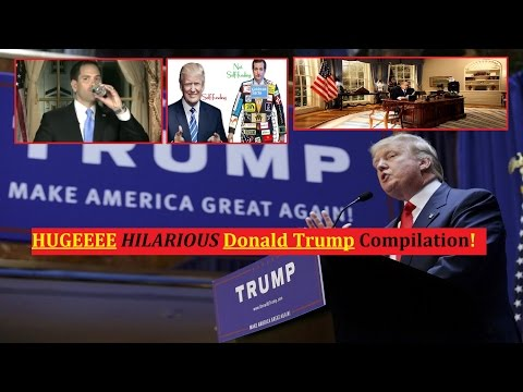 HUGEEEE NEW HILARIOUS Donald Trump Compilation FULL