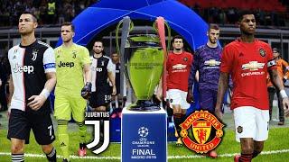 Manchester United vs Juventus - UEFA Champions League FINAL