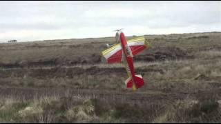 e flite slick 480 3d as3x ar636 test flight